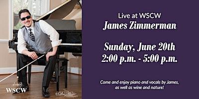 James Zimmerman on the Patio June 20
