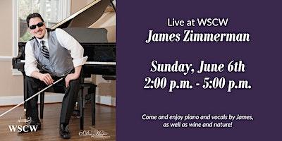 James Zimmerman on the Patio June 6