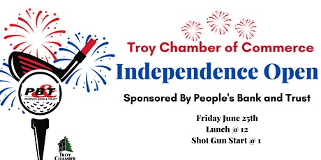 Chamber and Peoples Bank and Trust Independance Open tickets