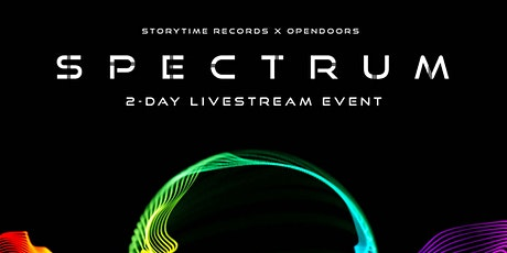 'Spectrum' Presented By StoryTime and Open Doors tickets