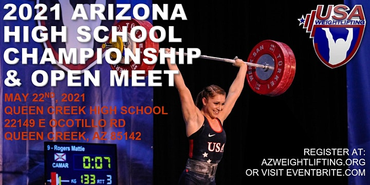 2021 Arizona High School Weightlifting Championship & Open image