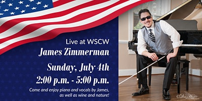 James Zimmerman on the Patio July 4