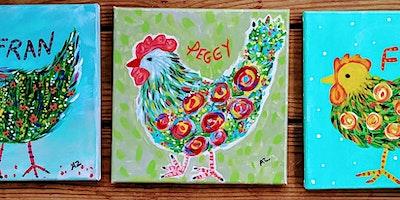 Remix  Market Chicken Paint!