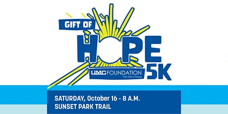 Gift of HOPE 5k tickets