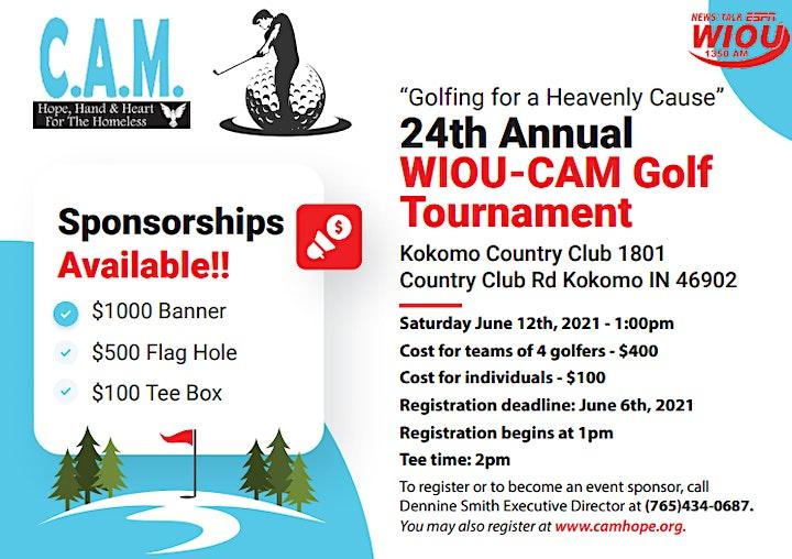 24th Annual WIOU-CAM Golf Tournament image