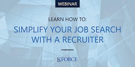 Simplify Your Job Search With A Recruiter entradas