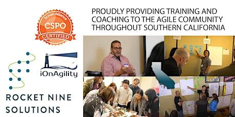 Bob Sarni|San Diego-Online|Scrum Product Owner|CSPO|June 2021 tickets