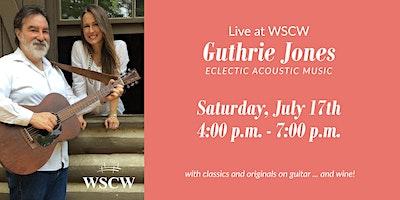 Guthrie Jones  on the Patio July 17