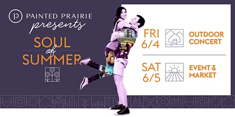 Painted Prairie Presents: Soul of Summer tickets