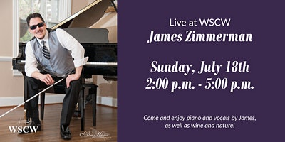 James Zimmerman on the Patio July 18