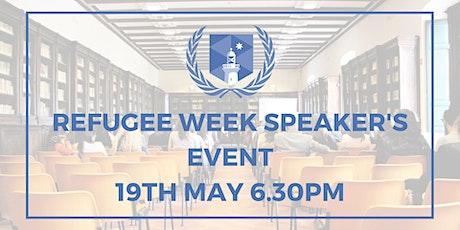 MUNS Refugee Week Panel tickets