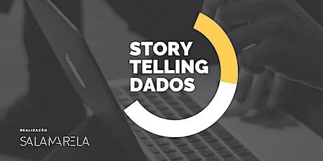 Curso STORYTELLING DE DADOS – 100% ONLINE (AO VIVO) - JUNHO 21 ingressos