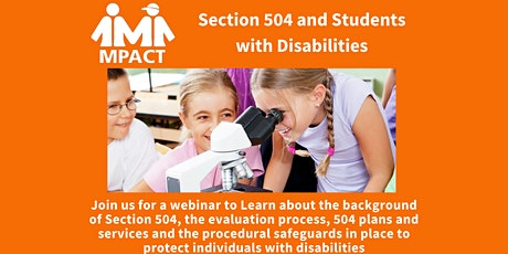 Section 504 and Students With Disabilities tickets