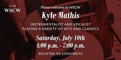 Kyle Mathis on the Patio July 10