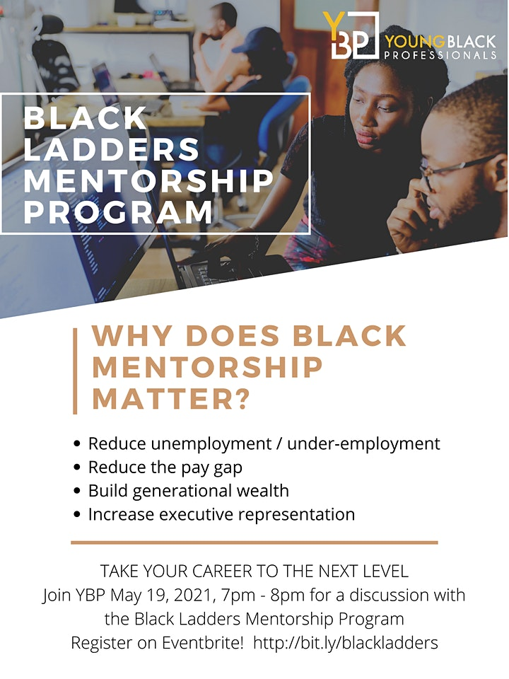 Black Ladders Mentorship Program - Take Your Career to the Next Level image
