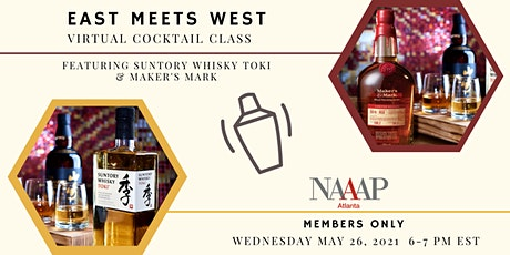 East Meets West: Virtual Cocktail-Making Class tickets