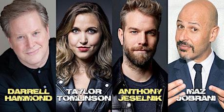 Anthony Jesilnik, Taylor Tomlinson, Maz Jobrani,Hammond Outdoor Comedy Show tickets
