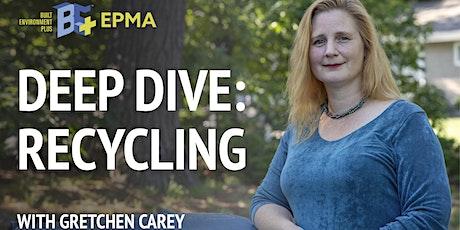 EPMA Deep Dive: Recycling tickets