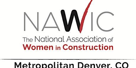 NAWIC Denver May Membership Meeting - virtual tickets