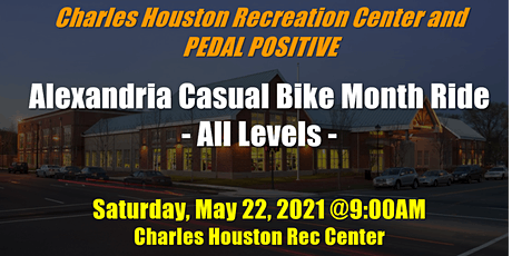 Alexandria Casual Bike Month Ride (All Levels) tickets