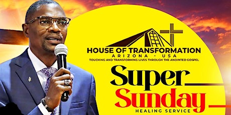 Super Sunday Healing Service tickets