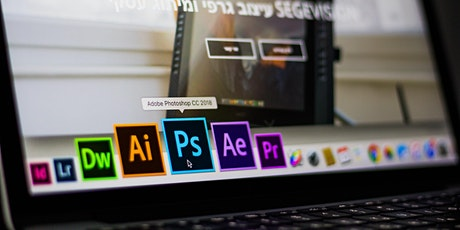 Adobe InDesign and Photoshop tickets