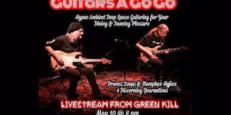 Guitars a Go Go, May 10, 8 PM, Livestream tickets