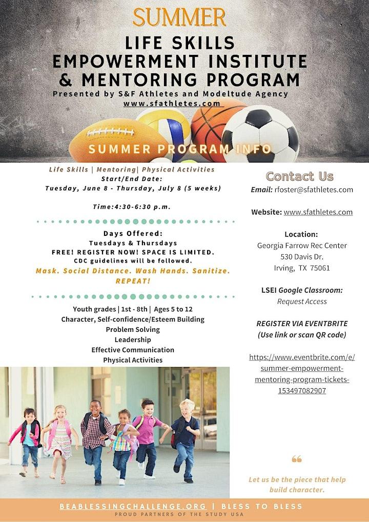 Summer Empowerment Mentoring Program image