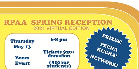 RPAA 2021 Spring Reception tickets