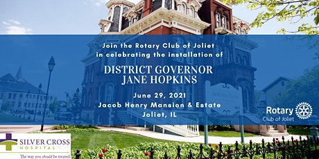 Rotary 6450 District Governor Installation 2021 for Jane Hopkins tickets