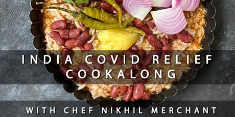 India COVID Relief Cookalong tickets