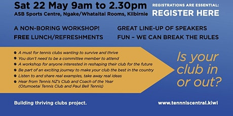 Wellington & Kapi Mana Club Workshop tickets