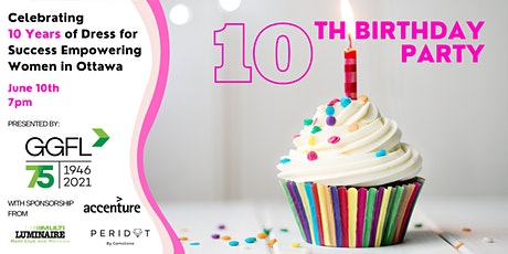 Dress for Success Ottawa's10th Birthday Party presented by GGFL tickets