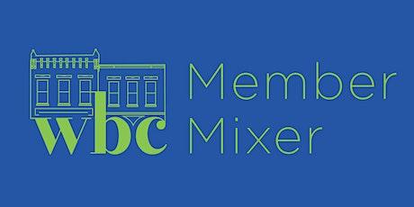 WBC Member Mixer tickets