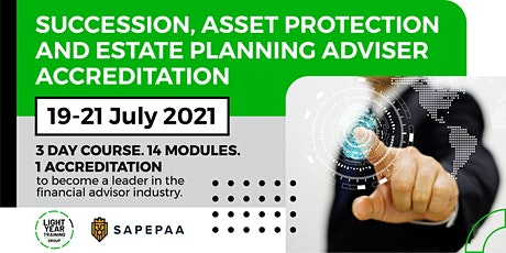 Succession, Asset Protection and Estate Planning Adviser Accreditation tickets
