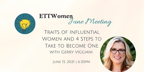 4 Traits of Influential Women: Steps To Become One with Gerry Viggiani tickets