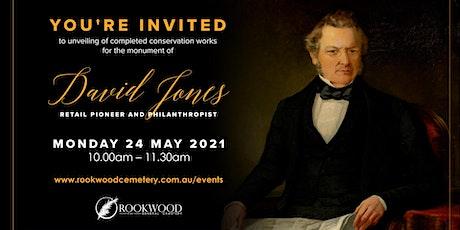 David Jones - Unveiling at Rookwood Cemetery tickets