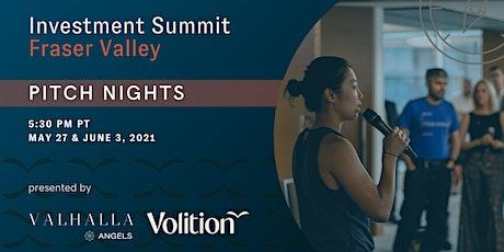 Valhalla Investment Summit Fraser Valley: Pitch Nights tickets