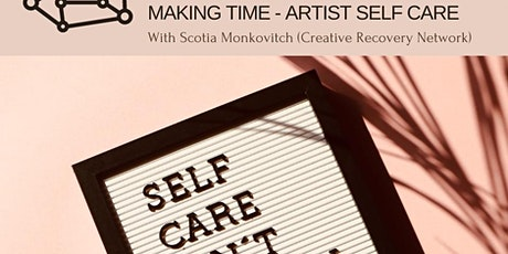 Shroom Zoom: Artist Self Care (Scotia Monkovitch, Creative Recovery Network tickets