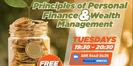 Principles of Personal Finance & Wealth Management tickets