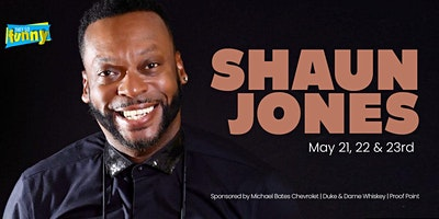Shaun Jones | Friday 7:30p