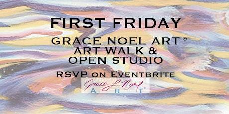 First Friday: ART WALK & OPEN STUDIO | Grace Noel Art tickets