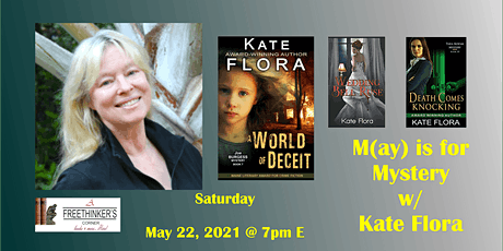 M(ay) is for Mystery w/ Kate Flora tickets