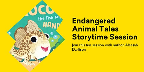 Endangered Animal Tales Storytime Session tickets