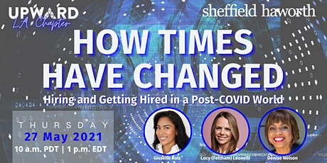 How Times Have Changed: Hiring and Getting Hired in a Post-COVID World bilhetes