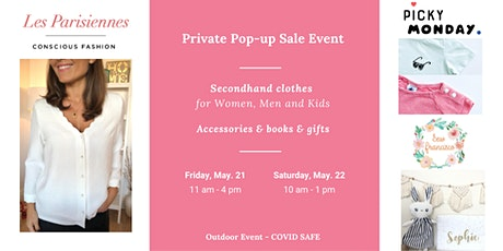 PRIVATE SALE Les Parisiennes with Picky Monday and  Sew Francisco tickets