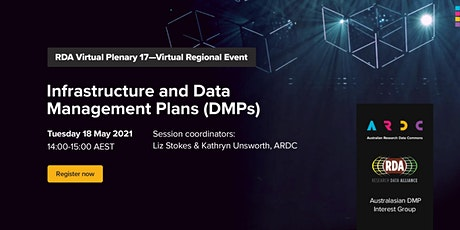 Infrastructure and Data Management Plans (DMPs) tickets