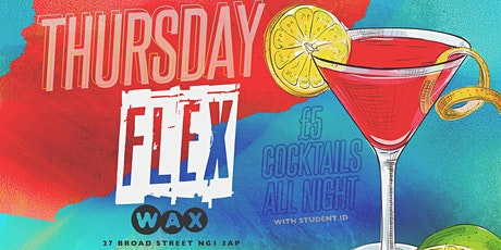 Thursday Flex : New Nottingham Student Night tickets
