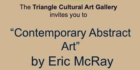 Contemporary Abstract Art by Eric McRay Artist Opening Reception tickets