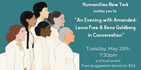 An Evening With Amended: Laura Free and Reva Goldberg in Conversation tickets